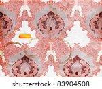 seamless wallpaper  detailed... | Shutterstock .eps vector #83904508