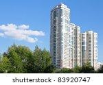apartment house | Shutterstock . vector #83920747