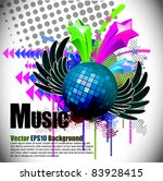 abstract modern banner theme... | Shutterstock .eps vector #83928415
