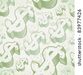 vector seamless background with ... | Shutterstock .eps vector #83977426