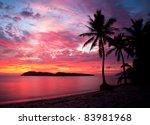 Sunset At Rebak Island ...