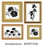 the frames for picture with...   Shutterstock .eps vector #83997196