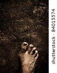 Close Up Of Bare Feet