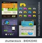 web design set  bonus icons | Shutterstock .eps vector #84042040