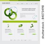 website design  ecological theme   Shutterstock .eps vector #84073498