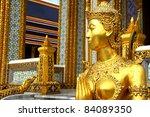 Kinnari Statue At Wat Phra Kae...
