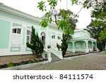 casas   museu da taipa   Shutterstock . vector #84111574