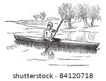 Canoe Or Canadian Canoe ...