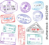 a collection of highly detailed ...   Shutterstock .eps vector #84121450