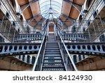 Stock photo kilmainham gaol irish pr os n chill mhaighneann first built in is a former prison 84124930