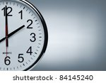 close up of a clock isolated ob ... | Shutterstock . vector #84145240