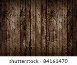 Worn Brown Wooden Planking...