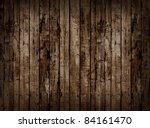 Worn Brown Wooden Planking...