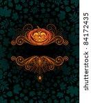 halloween background   Shutterstock .eps vector #84172435