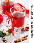 orange and cranberry punch with ...   Shutterstock . vector #84184495