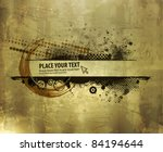 abstract grunge banner design... | Shutterstock .eps vector #84194644
