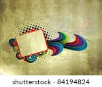 abstract grunge banners with... | Shutterstock .eps vector #84194824