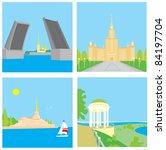 cities | Shutterstock .eps vector #84197704