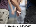 prayer circle | Shutterstock . vector #84200419
