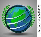 Globe Design - stock vector