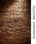 rough brick wall full frame | Shutterstock . vector #84215731
