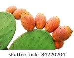 Prickly Pears Cactus Fruitsand...