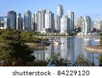 vancouver bc waterfront false... | Shutterstock . vector #84229120
