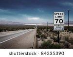Desert Highway Road To Horizon...