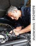 mechanic at work | Shutterstock . vector #84248998