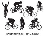 bicycles in test | Shutterstock . vector #8425300