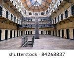 Stock photo kilmainham gaol irish pr os n chill mhaighneann first built in is a former prison 84268837
