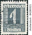 austria   circa 1925  a stamp... | Shutterstock . vector #84280321