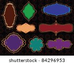 Colourful Henna Frames  Easily...