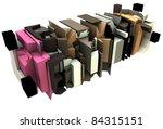 3d render of abstract graffiti... | Shutterstock . vector #84315151