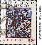 mexico   circa 1971  a stamp... | Shutterstock . vector #84321088