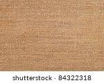 closeup of natural burlap... | Shutterstock . vector #84322318