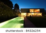 new architecture  beautiful... | Shutterstock . vector #84326254
