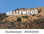 hollywood   september 6  the... | Shutterstock . vector #84352444