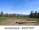 site of st simon's wood  park... | Shutterstock . vector #84357997