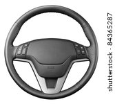 steering wheel   isolated on... | Shutterstock . vector #84365287