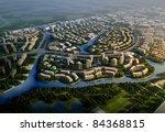3d rendering of the building | Shutterstock . vector #84368815