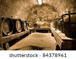 hdri of a wine cave | Shutterstock . vector #84378961