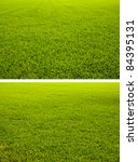 Two Styles Of Grass Field...