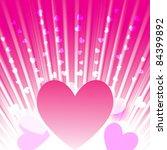 heart card | Shutterstock .eps vector #84399892