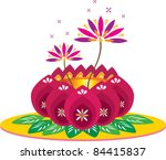 lotus | Shutterstock .eps vector #84415837