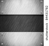 abstract background with metal... | Shutterstock . vector #84431782