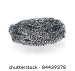 Metal Sponge   Steel Wire Scru...