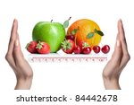 Summer Fresh Fruits Isolated On ...