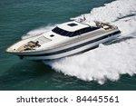 italy  tyrrhenian sea  off the... | Shutterstock . vector #84445561