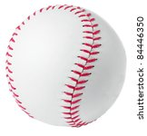 image of a baseball in a white... | Shutterstock . vector #84446350